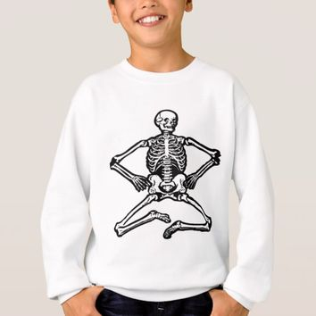 Black Skeleton Sweatshirt