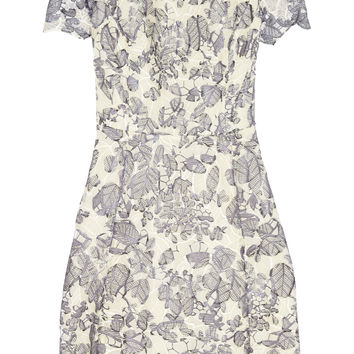 Tory Burch - Summer guipure lace mini dress