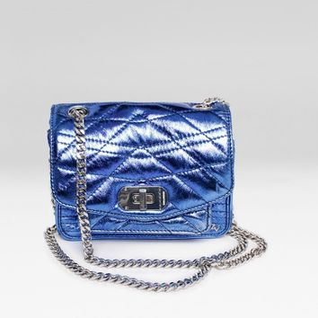 Xs Skinny Love Quilted Metal Bag