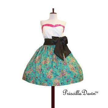 Carolina's Cup Dress CUSTOM made to YOUR by priscilladawn on Etsy