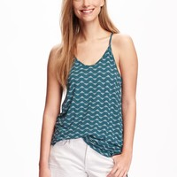 Relaxed Keyhole Top for Women | Old Navy