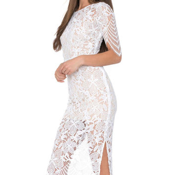 Sexy Luna Lace Maxi Dress
