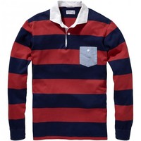Heavy Rugger Chambray Pocket - T-Shirts and Polos - Clothing - Men