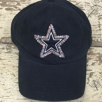 Dallas Cowboys Swarovski Crystaled Caps