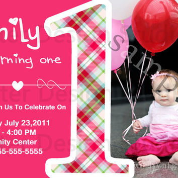 Shop Babys First Birthday Invitations On Wanelo - Birthday invitation for baby