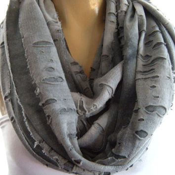 Storm at the Desert......Nomad Cowl....Shredded texture....Infinity Scarf..Limited  Desert Collection