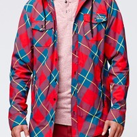 Neff Rad Plaid Flannel Shirt - Mens Tee