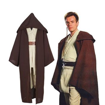 Cool Star Wars Jedi Knight anime cosplay costume Star Wars cos apparel foreign trade explosion animation clothingAT_93_12