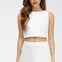 Flat Front Textured Shorts