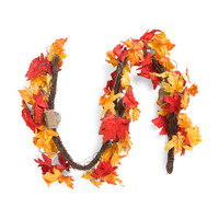 6ft Faux Maple Leaf Garland - Harvest - T.J.Maxx