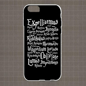 Harry Potter Magic Spell iPhone 4/4S, 5/5S, 5C Series Hard Plastic Case