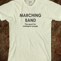 Marching Band Sport-Unisex Natural T-Shirt