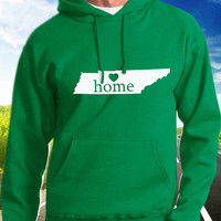Tennessee Home Hoodie - State Pride - Home - Clothing