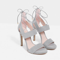 STILETTO HEEL SANDALS - View all-SHOES-WOMAN | ZARA United States
