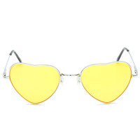 Lennon Love Sunglasses - Yellow