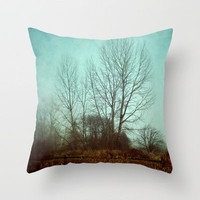 quiet time Throw Pillow by Sylvia Cook Photography | Society6