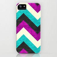 Chevron - Diva iPhone & iPod Case by Jacqueline Maldonado