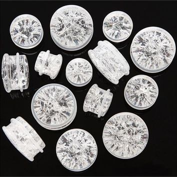 SF Quartz Stone Plugs (6 gauge - 1 inch)