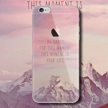 Snowy Mountains iPhone 5 5S iPhone 6 6S Plus Case + Nice Gift Box -124