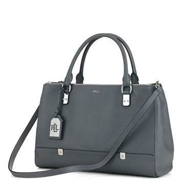 Lauren Ralph Lauren Morrison Leather Satchel