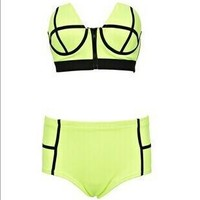 Beach Summer Swimsuit Hot Sexy New Arrival Zippers Swimwear Bikini [6532616135]