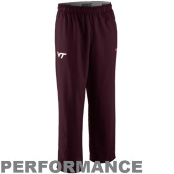 Nike Virginia Tech Hokies Victory Woven Performance Pants - Maroon