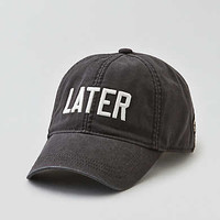 AEO Baseball Hat , True Black