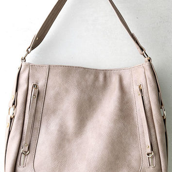 How Far I'll Go Taupe Handbag