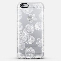 Storied Flowers White iPhone 6 Plus case by Sandra Arduini | Casetify