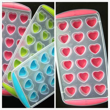 1PC Silicone Ice Cube Trays Jelly Chocolate Fruit Cake DIY Mould Mold Tray Pudding Ice cream tubd Levert Dropship 2feb24