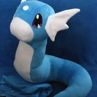 Dratini Handmade Custom Pokemon Plush!16""