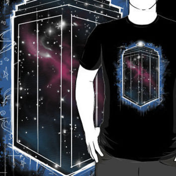 """""""Space, Time and Graffiti """" T-Shirt Design by odysseyroc   RedBubble"""