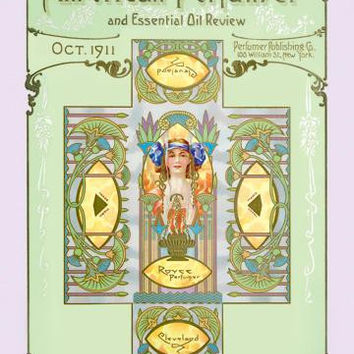 American Perfumer and Essential Oil Review, October 1911 20x30 poster