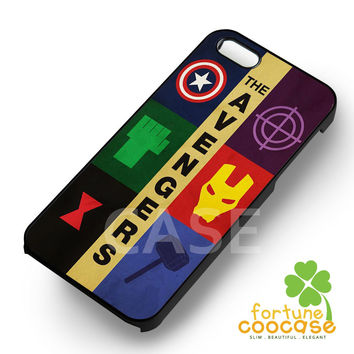 the avengers minimalist-1nay for iPhone 6S case, iPhone 5s case, iPhone 6 case, iPhone 4S, Samsung S6 Edge