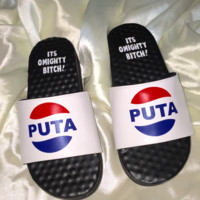 SWEET LORD O'MIGHTY! PUTA COLA SLIDES