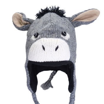 Dwayne The Donkey Peruvian Knit Hat