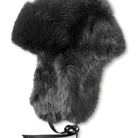 Banana Republic Faux Fur Trapper Hat