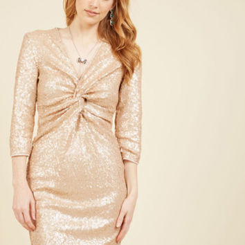 Film Premiere Prestige Sequin Dress | Mod Retro Vintage Dresses | ModCloth.com