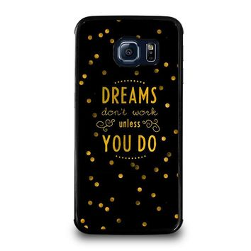 KATE SPADE QUOTE Samsung Galaxy S6 Edge Case Cover