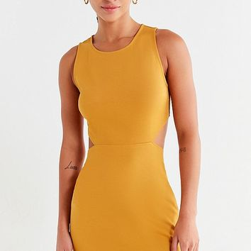 UO Cut-Out Bodycon Mini Dress | Urban Outfitters
