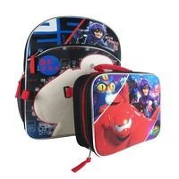 Disney's Big Hero 6 Backpack & Lunch Bag Set - Kids (Black)