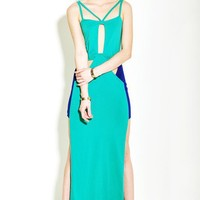 Women 2012 New High Quality Euro Asymetrical Pure Color Cotton Green Vest Dress S/M/L@TS120367gr $32.30 only in eFexcity.com.