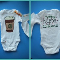 Mommy Needs Caffeine by punkiboo on Etsy