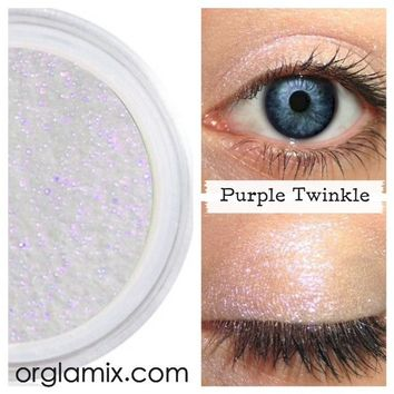 Purple Twinkle Effects Eyeshadow