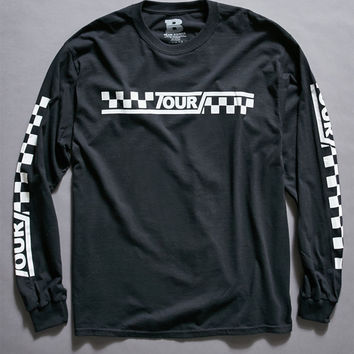 Justin Bieber Stadium Tour Checker Long Sleeve T-Shirt at PacSun.com