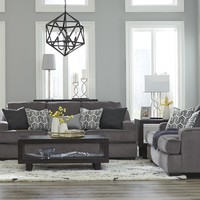 Ashley 656 Sofa and Loveseat
