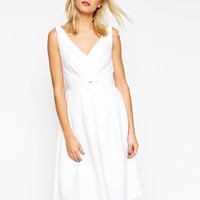 ASOS 50's Belted Prom Dress