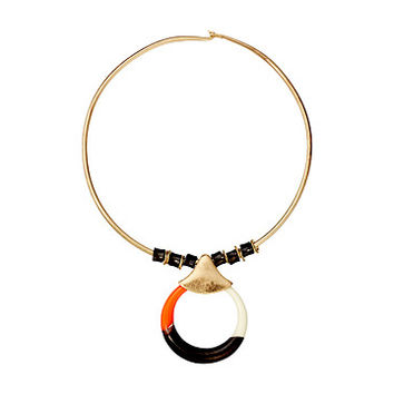 Robert Lee Morris Round Wire Necklace