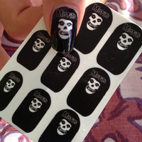 MISFITS NAIL COVERS Punk Rock Girl