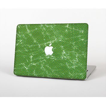 The Green & Yellow Mesh Skin for the Apple MacBook Air 13""